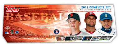 2011 Topps Baseball Card Set